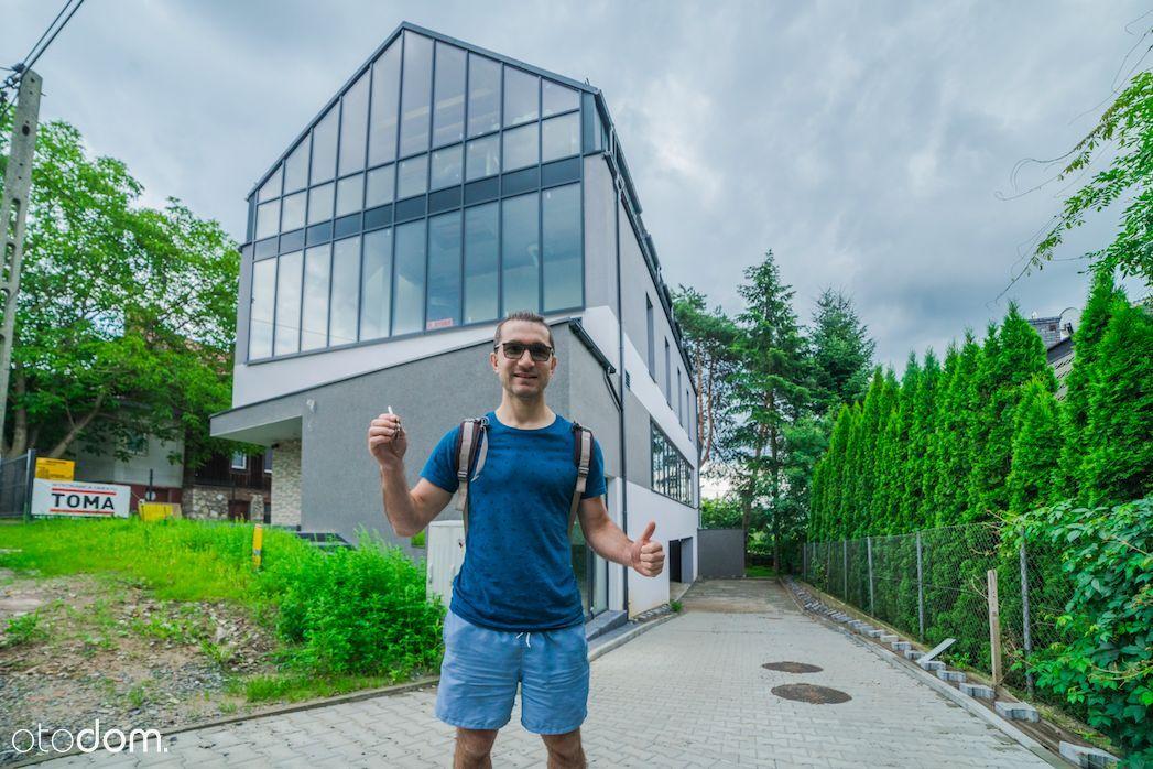 Dom 419 m2, 4 poziomy, futurystyczny, przestrzenny