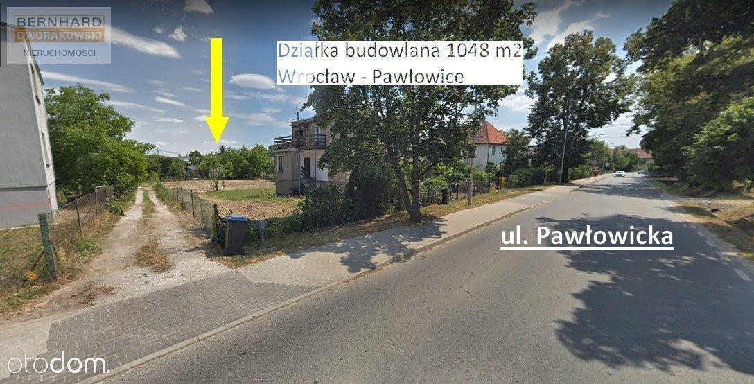Działka budwlana Pawłowice Wrocław, przy Pałacu