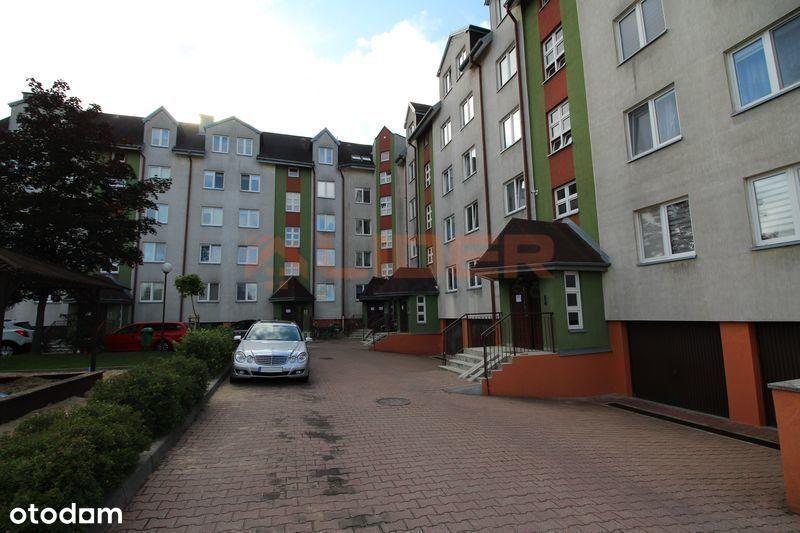 Mieszkanie dwa pokoje, cegła, teren ogrodzony.