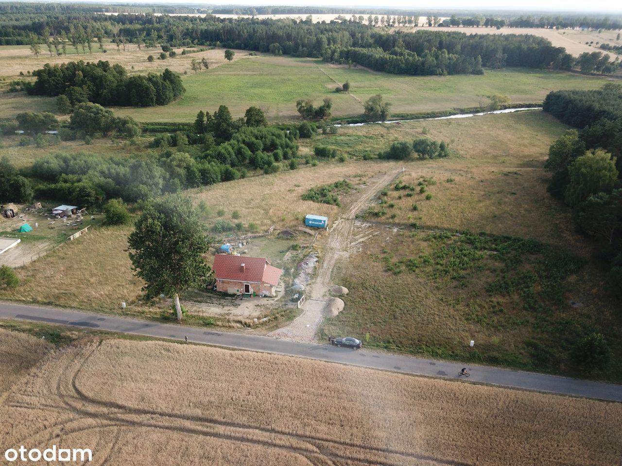 Stargard - Rogowo działka przy drodze asfaltowej