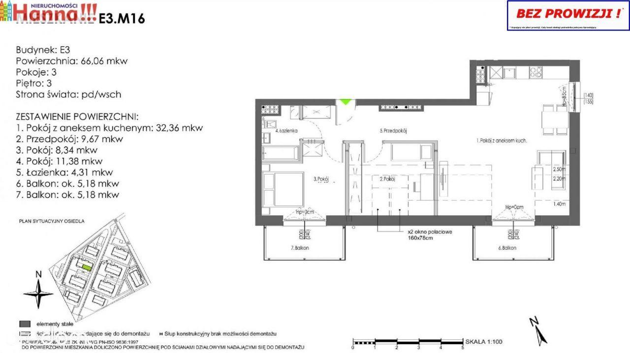Gotowe Do Odbioru Mieszkanie 66,06 M2 W Rokitkach