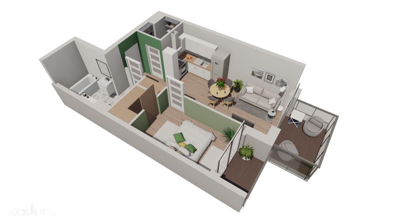 Pruszcz Park, budynek C, mieszkanie 2.B.27