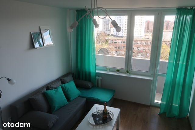 Pokój w dwupokojowym mieszkaniu Gdańsk Przymorze