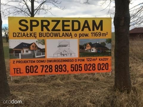 Działka, 1 169 m², Stary Wielisław
