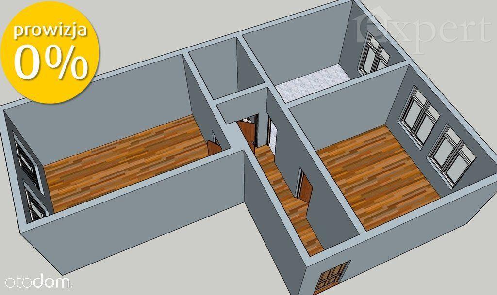 Rozkładowe 2 pokoje na parterze, ul.Bogusława