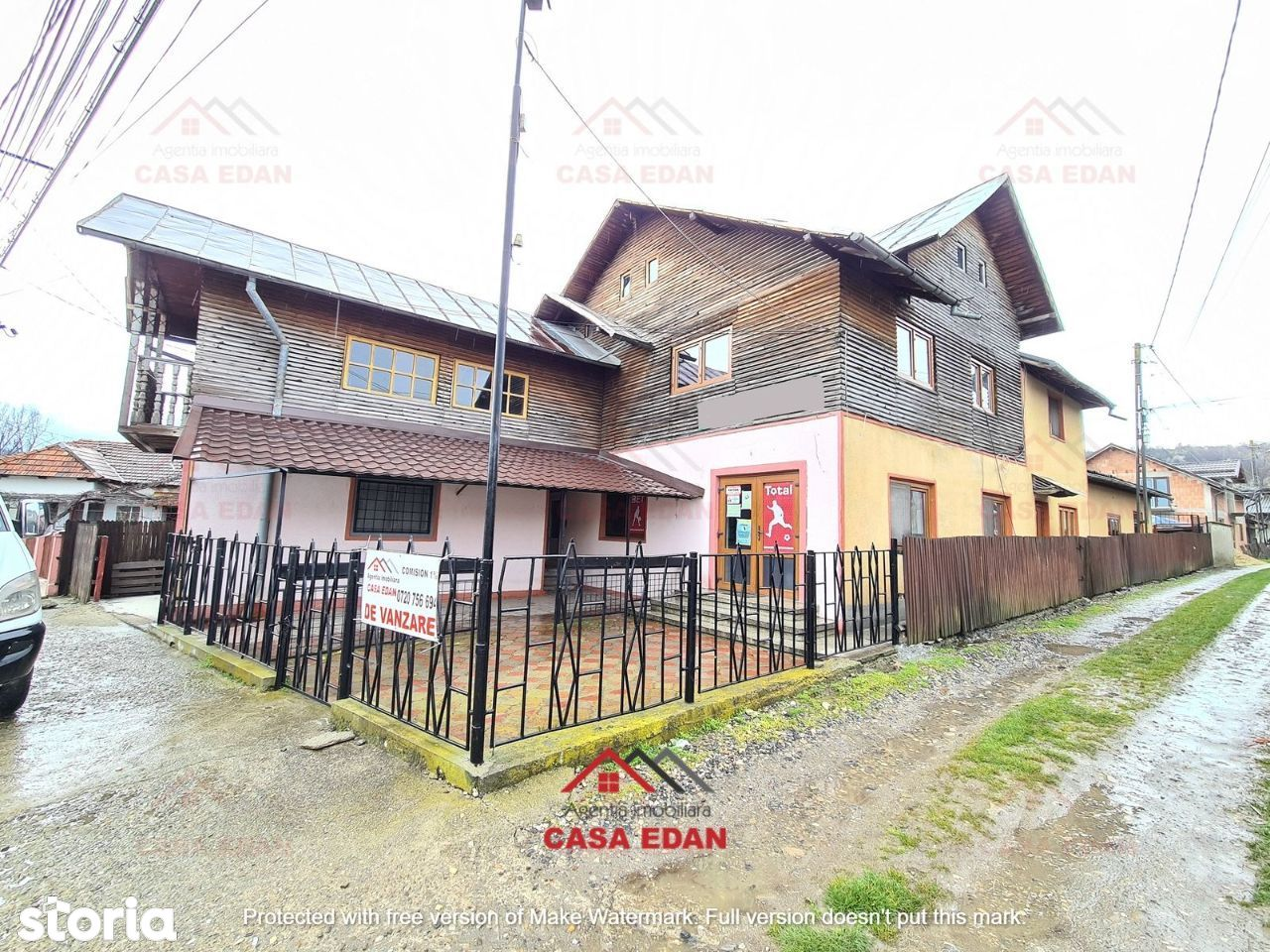 Casa (spatiu comercial) in Glodeni,Db,ultracentral,256 mp construiti !