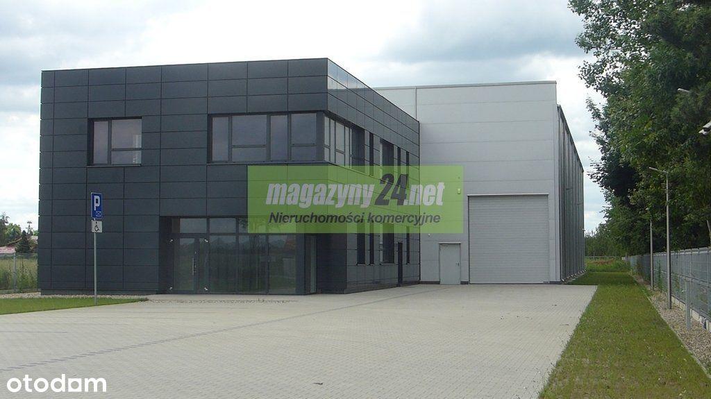 Obiekt 750m2 hala+ 400m2 biuro Czosnów/Palmiry