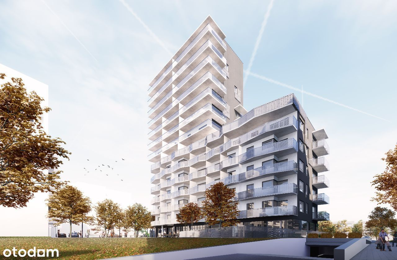 Piękny słoneczny apartament z dużym tarasem 31 m2