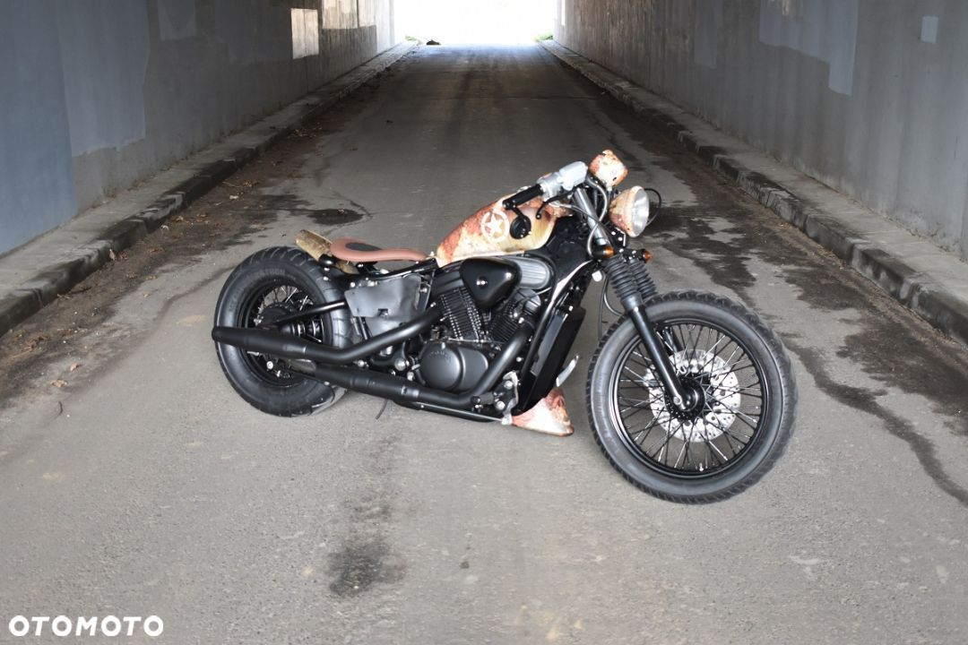 Honda VT Shadow vt 600 Flame Custom Bobber cafe - 23