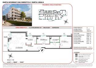 Mieszkanie w inwestycji Willa na Żeraniu 79,61 m2