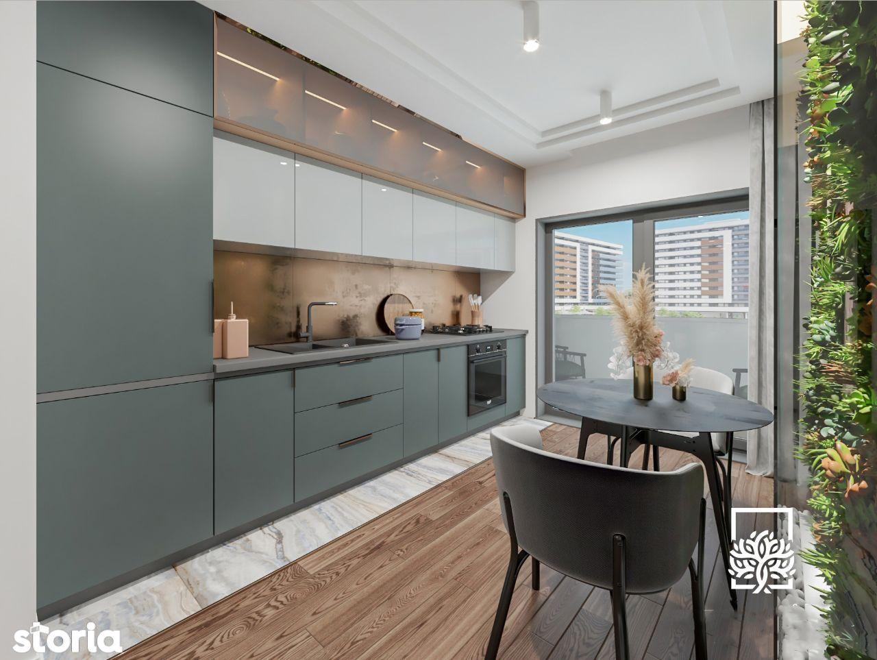 Apartament Nou 2 Camere 49mp - Copou Rezidential