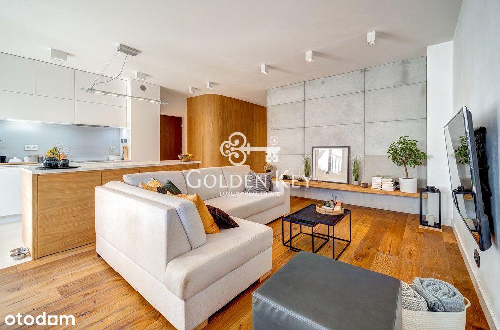 Elegancki apartament z ogródkiem