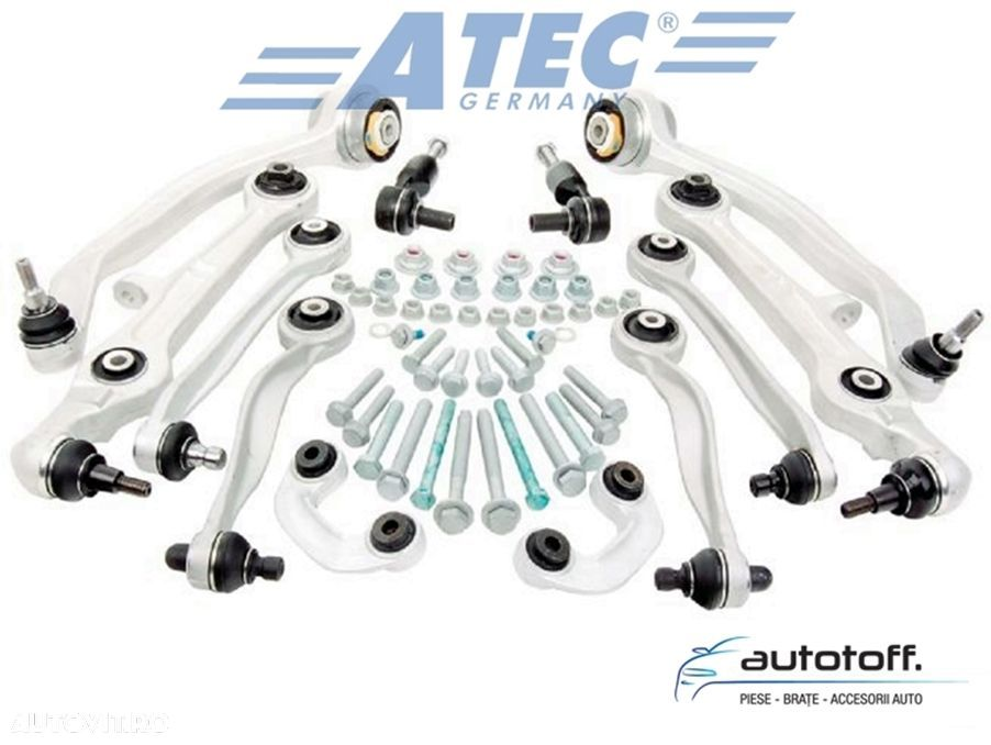 Kit 12 brate Audi A4 B6 B7 8E, A6 4B C5, VW Passat 3BG B5 HD-VERSION - 4