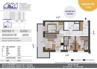 4 - pokojowe mieszkanie M1