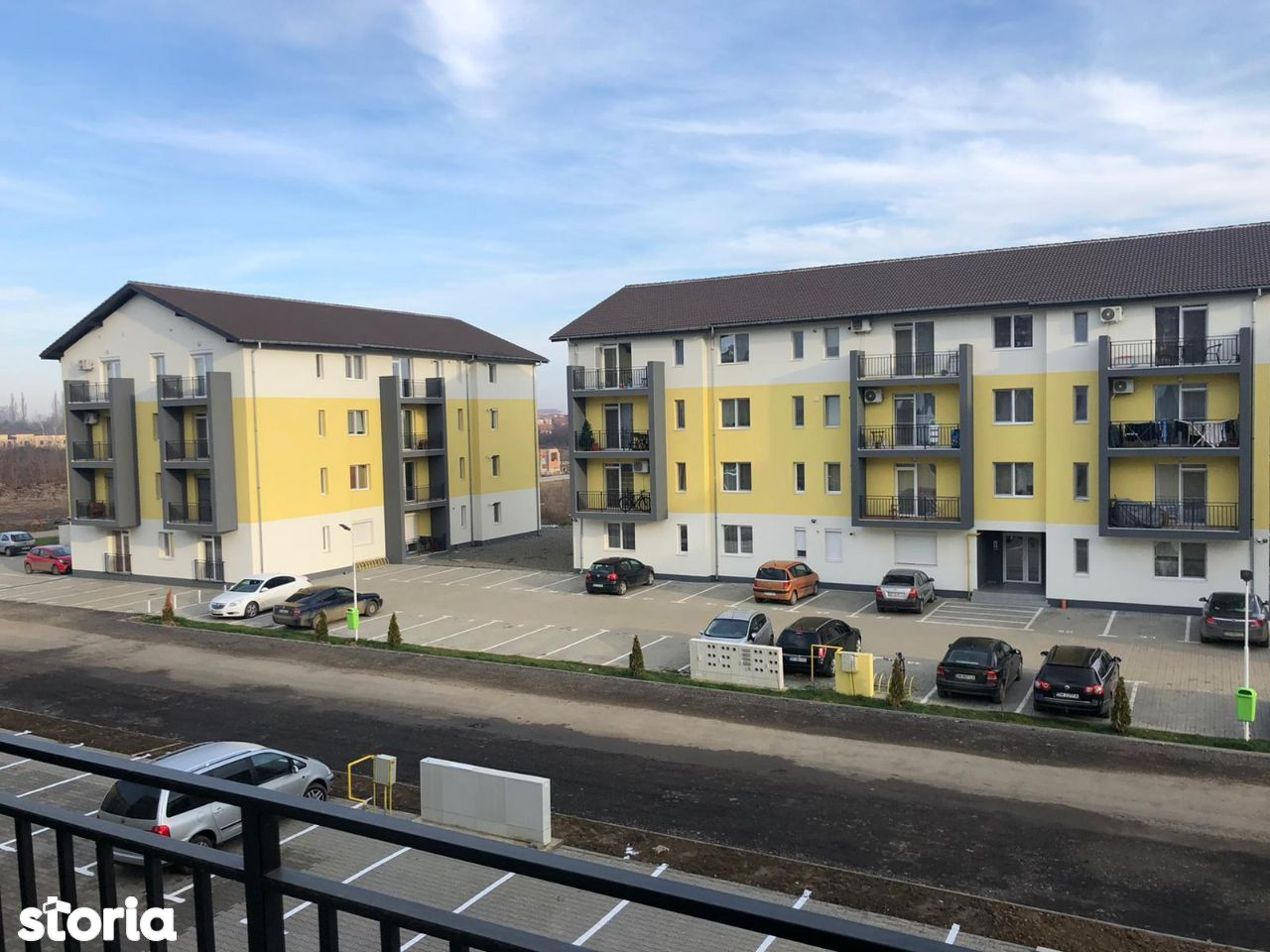 Apartament 3 camere 69 mp zona rezidentiala bloc nou