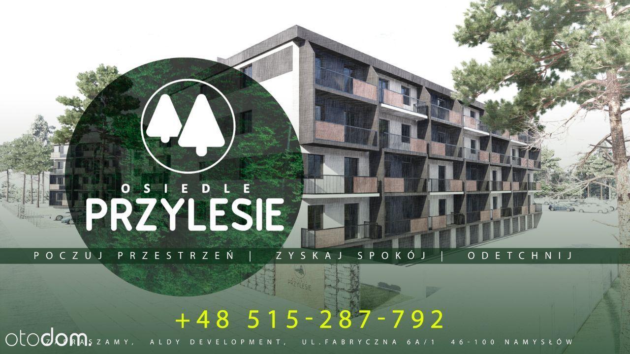 Nowe mieszkanie 3 pokoje 46 m2 - duży balkon