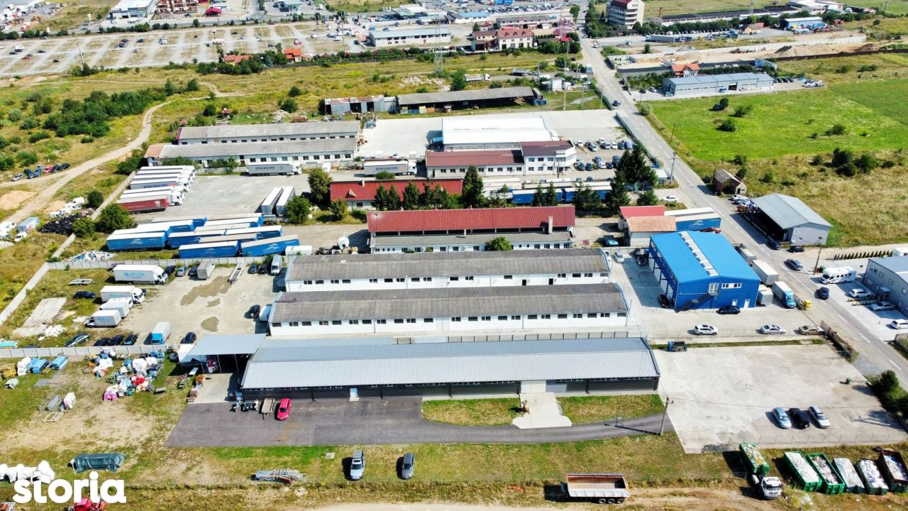 Spatiu Industrial/Hala -Zona Autostrada A3 -Curte Betonata/Acces TIR