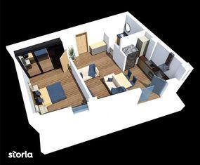 Apartament - Parter - Scara 1 - 54.65 mp