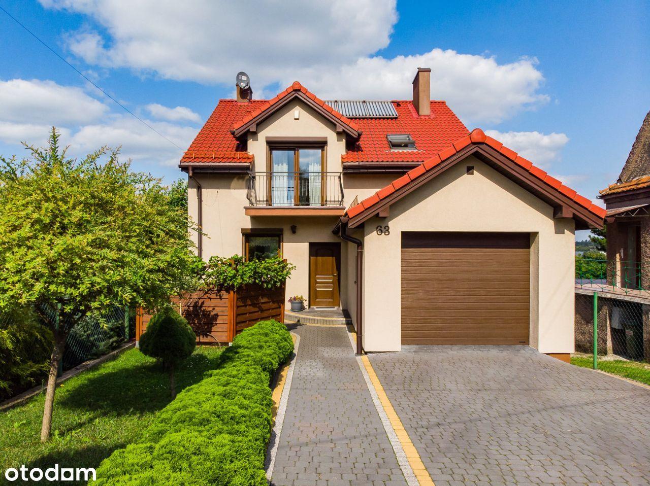 Komfortowy dom 152 m2 z dużym tarasem na Małobądzu