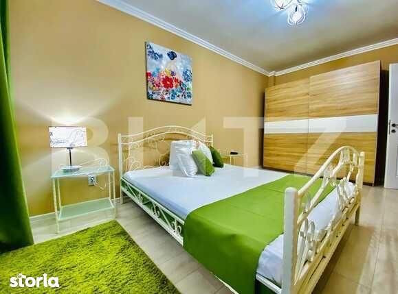 Apartament 2 camere, 55 mp, lux, garaj, zona Corneliu Coposu