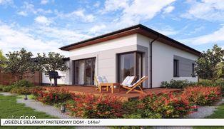 Energooszczędny parterowy dom z rekuperacją.