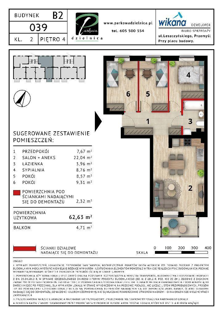 Mieszkanie nr 39 Budynek B2
