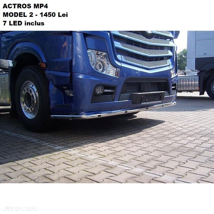 Bullbar Mercedes Actros Mp4 - 2