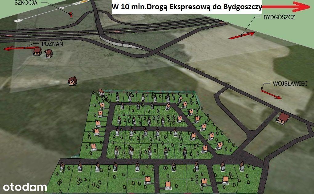 Sprzedam zaprojektowane osiedle 10 Km od Bydgoszcz