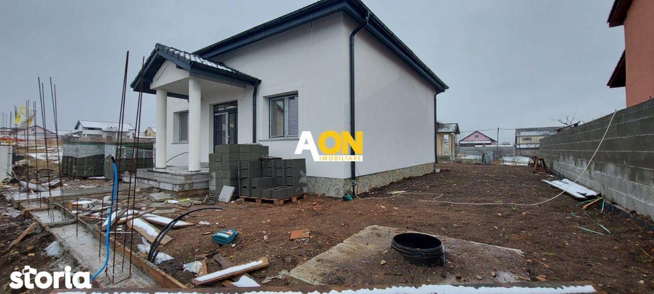 Casa semifinisata, 4 camere, 345 mp teren, Alba- Micesti