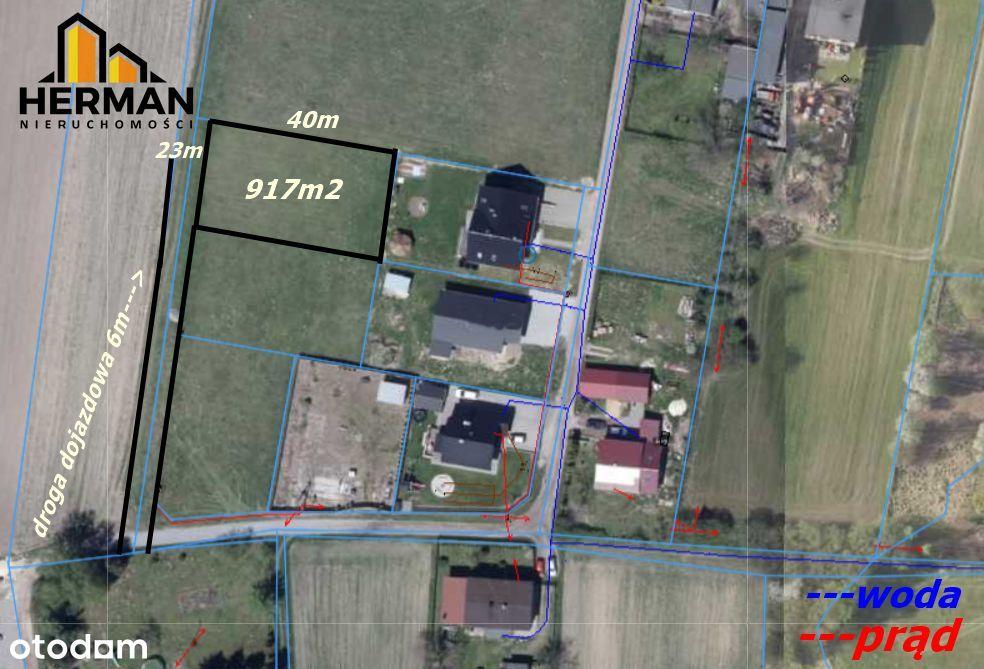 Działka budowlana Czerwionka-Leszczyny 917m2
