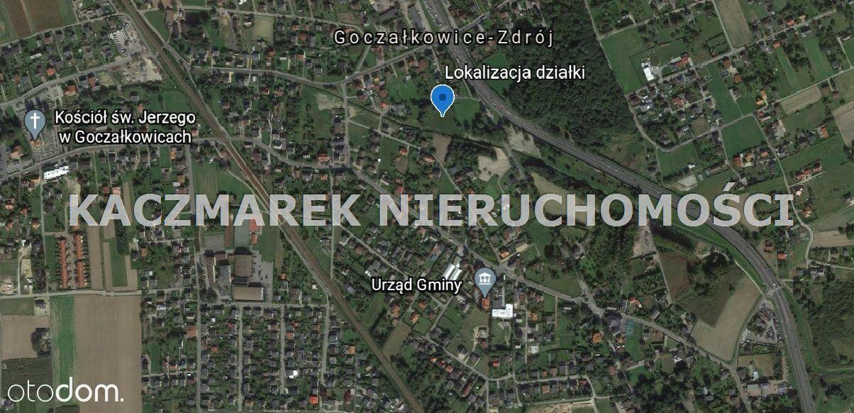 Działka, 3 710 m², Goczałkowice-Zdrój