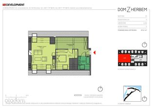 Nowe dwupokojowe mieszkanie Dom z Herbem 6.M2