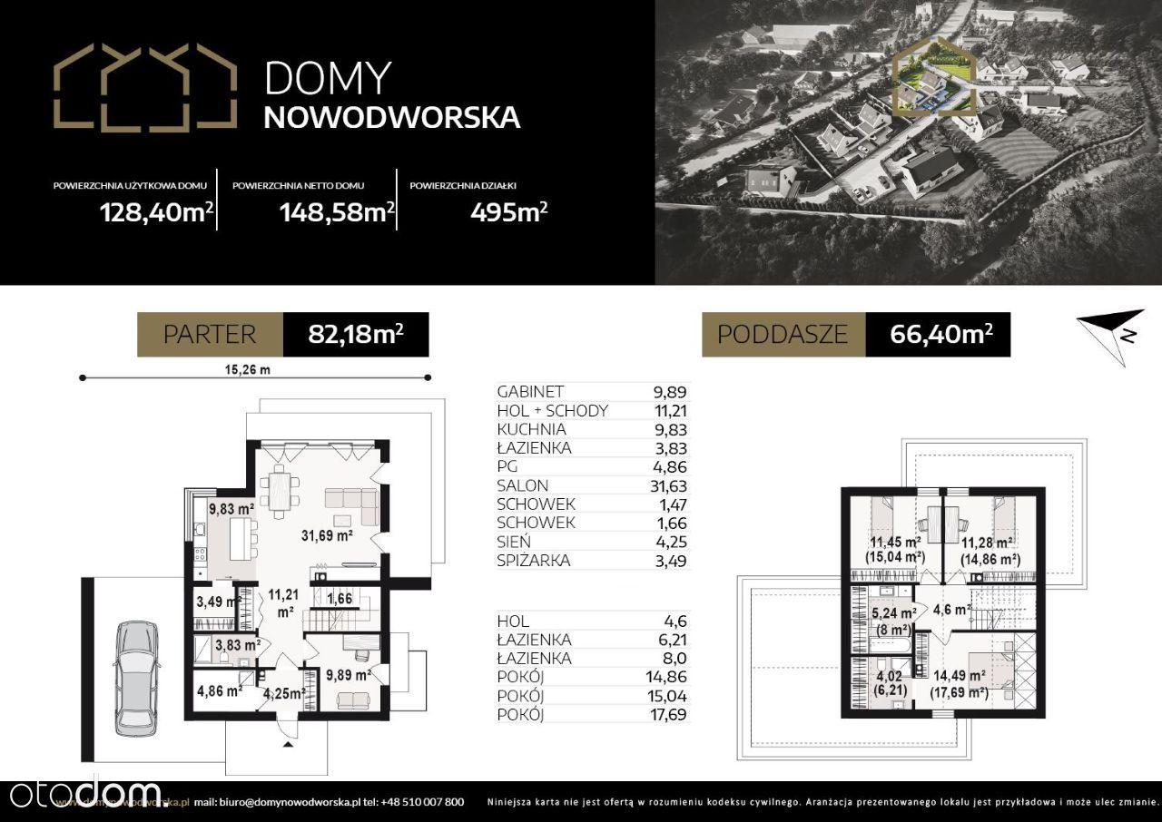 Domy Nowodworska DOM nr 11 TYP A