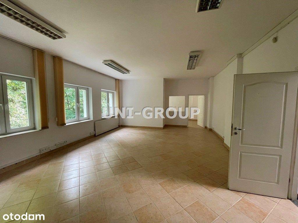 Biuro o pow. 150 m2 - cicho, zieleń za oknami