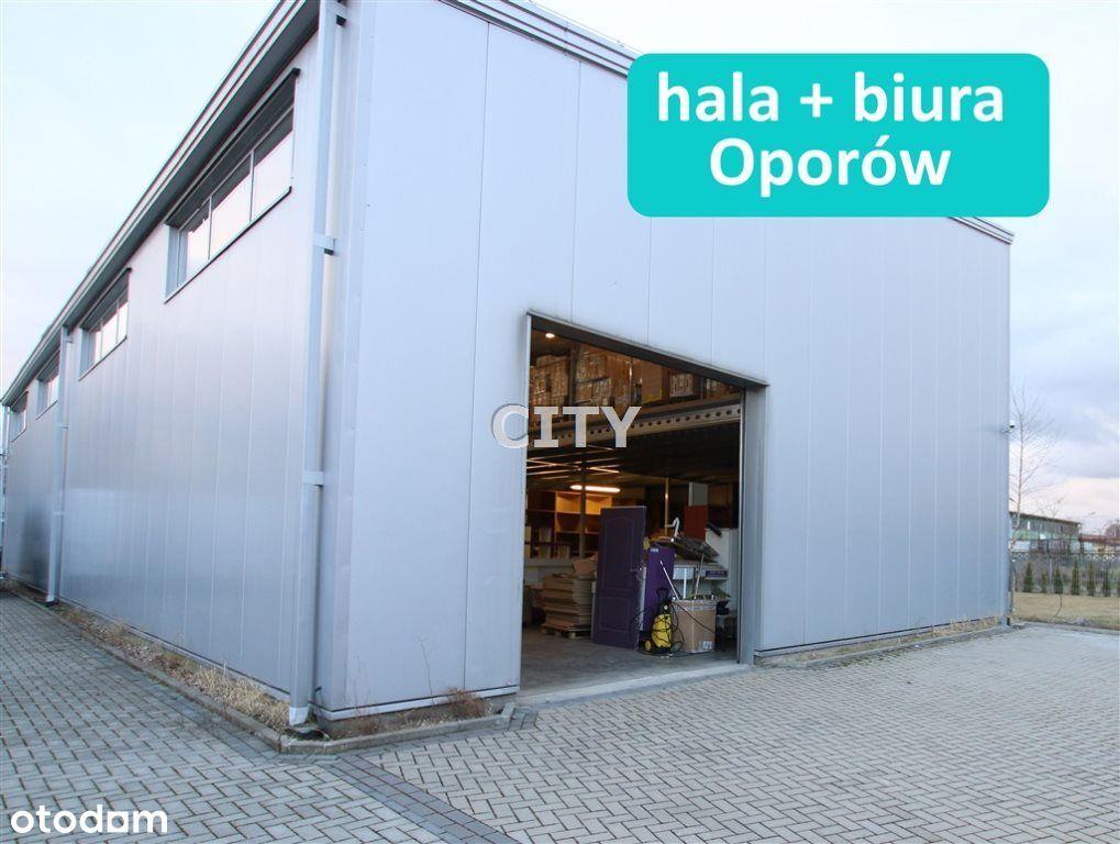 Hala Fabryczna - Oporów