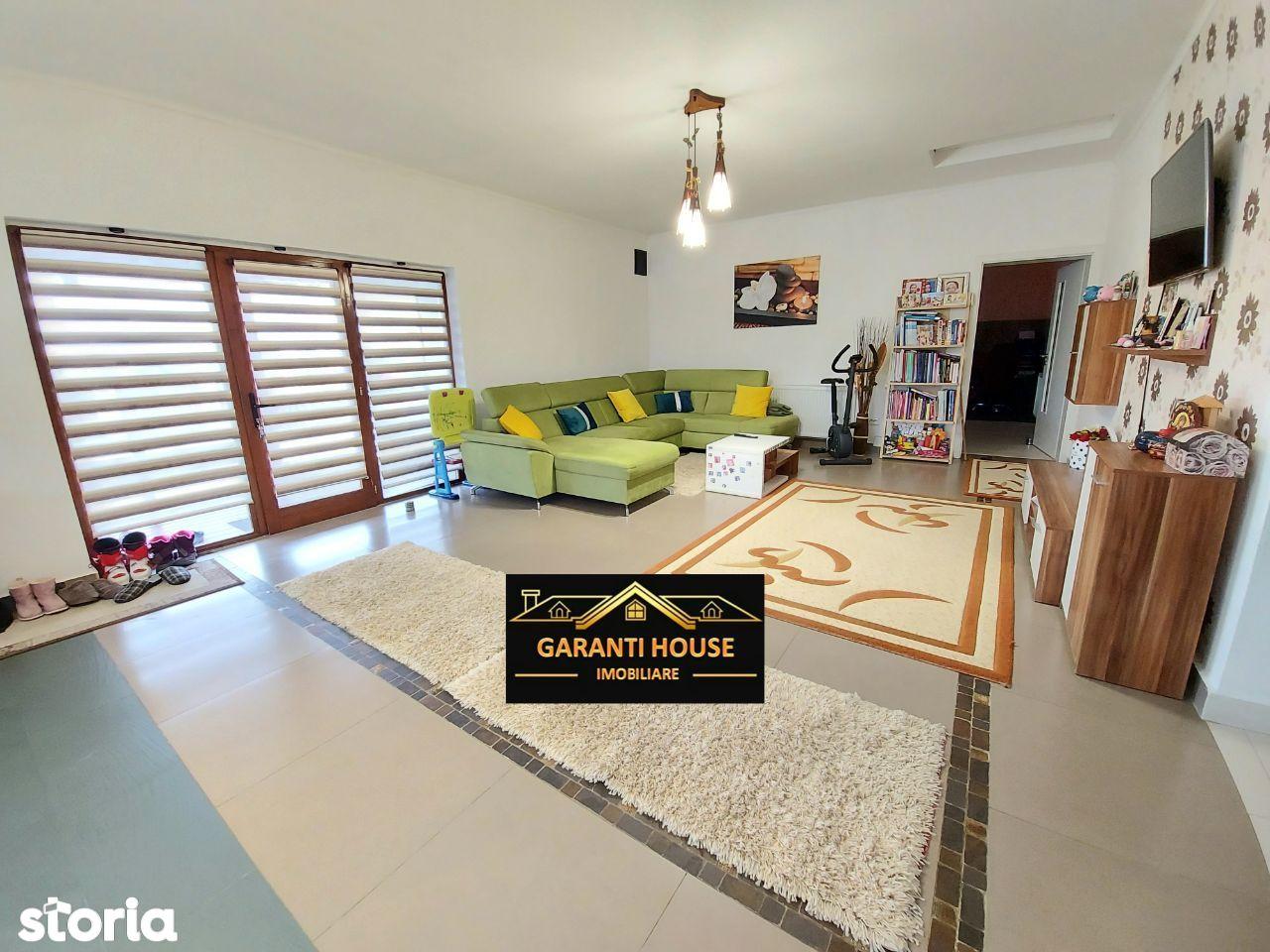 Zona Vrancei, casa pe un nivel, sauna, mobilata, 133 000€ negociabil