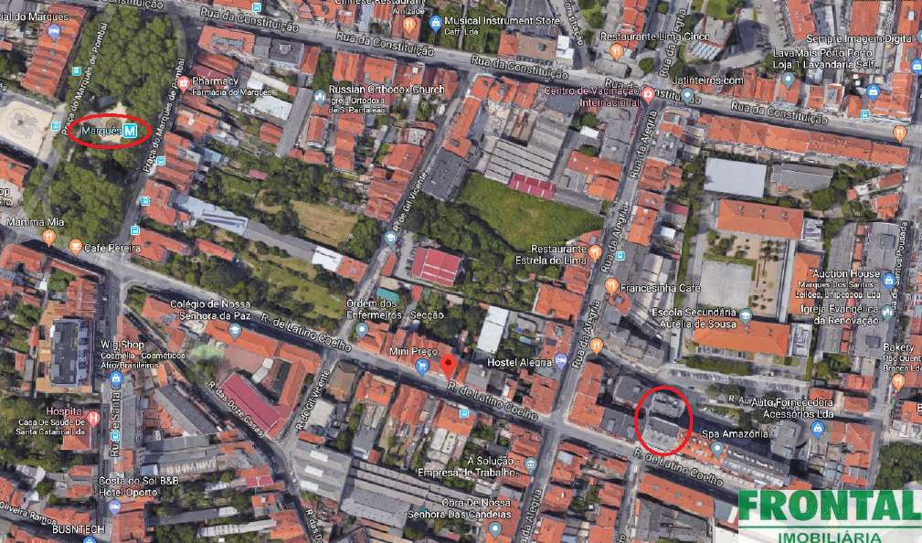 igreja do bonfim porto mapa 2 Edifícios contíguos para serviços 3863 m2 no Porto | Imovirtual igreja do bonfim porto mapa