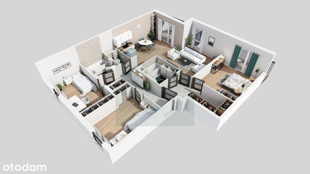 Mieszkanie 4- pokojowe odbiór III kwartał 2022r.