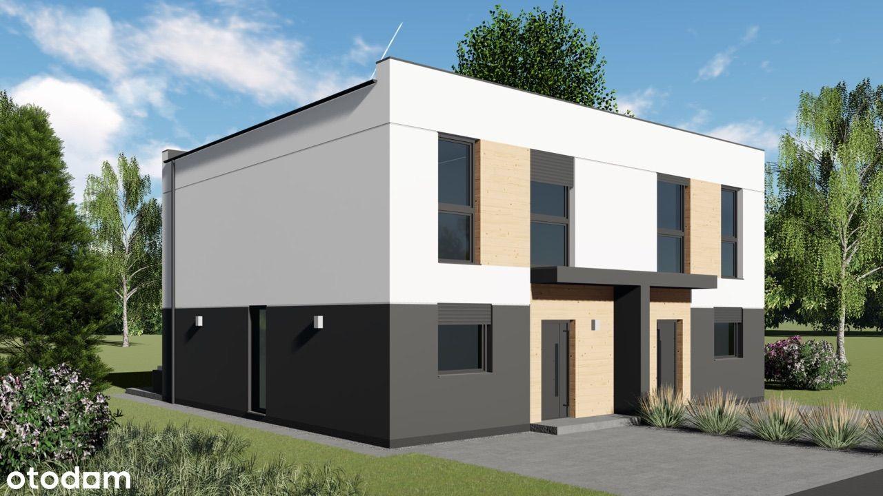 Nowy dom bliźniaczy w Poznaniu