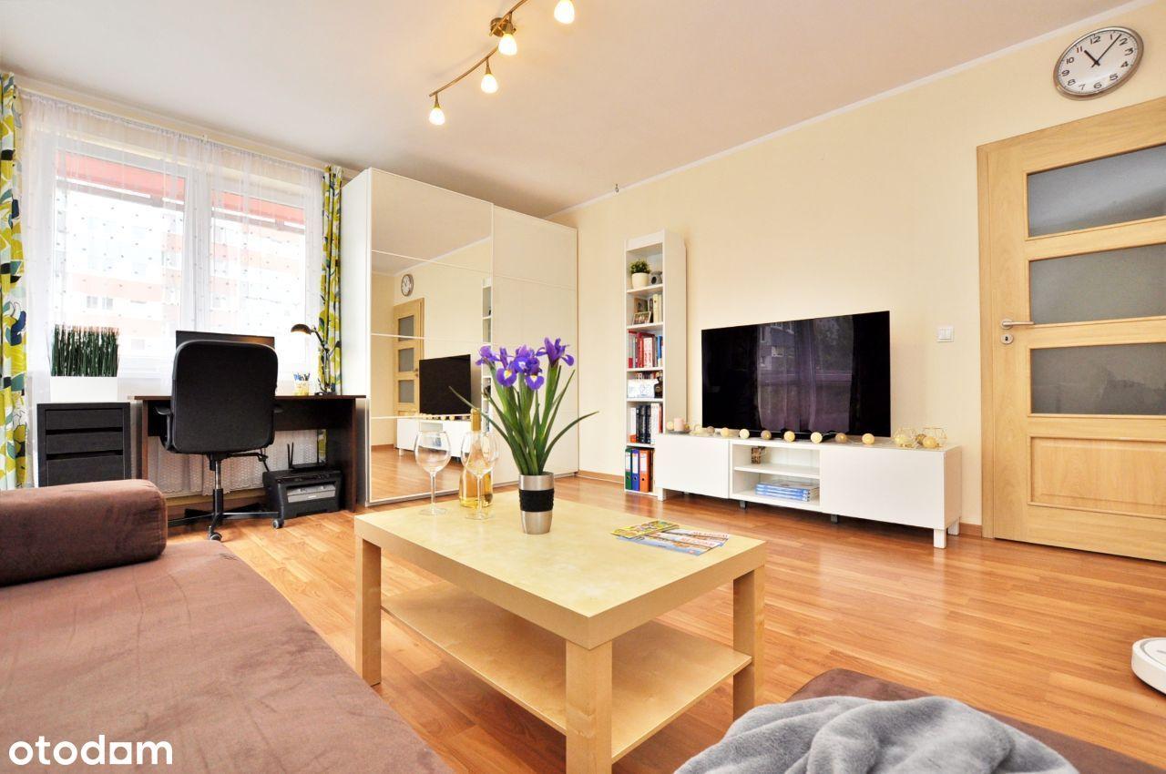 Przestrzenne, komfortowe 50m2 mieszkanie 2pokojowe