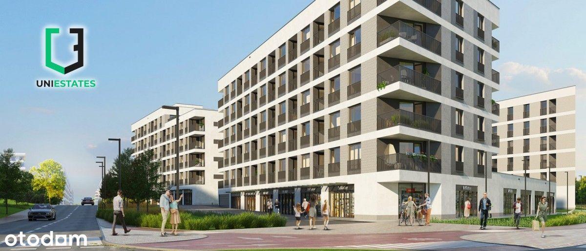 ul. Banacha | 2 pokoje + balkon |40,71m2| Bez Pcc!