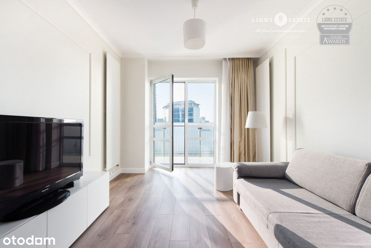 Nowoczesny 2-pokojowy apartament w Platinum Towers