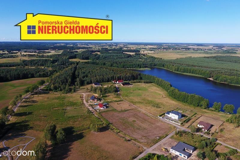 Radacz - działka budowlana nad jeziorem.