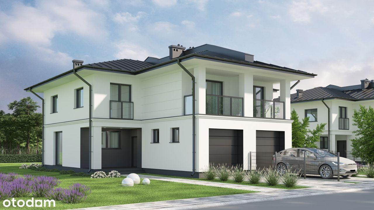 Dom bliźniak 123 m² na działce 529 m² w Józefowie