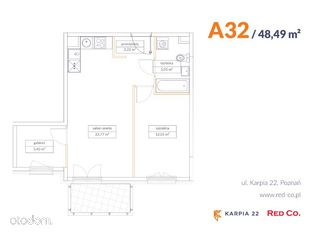 KARPIA 22, I etap, mieszkanie nr A 32