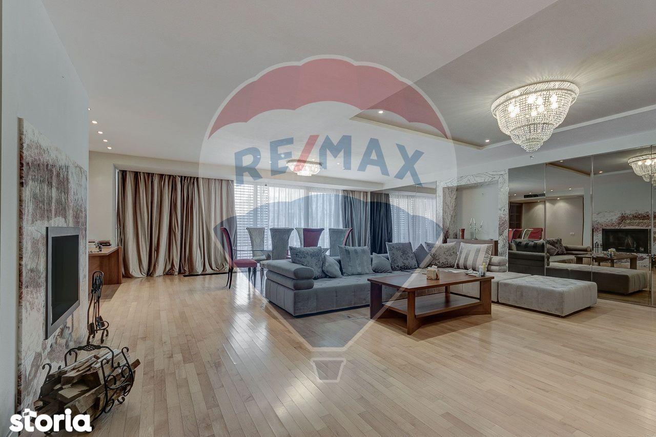Apartament lux 4 camere de închiriat- Dorobanti Capitale