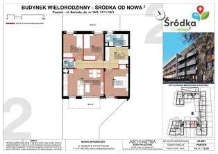Mieszkanie A2.M01 Poznań Śródka OdNowa 2