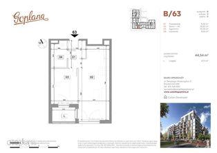 Mieszkanie B63