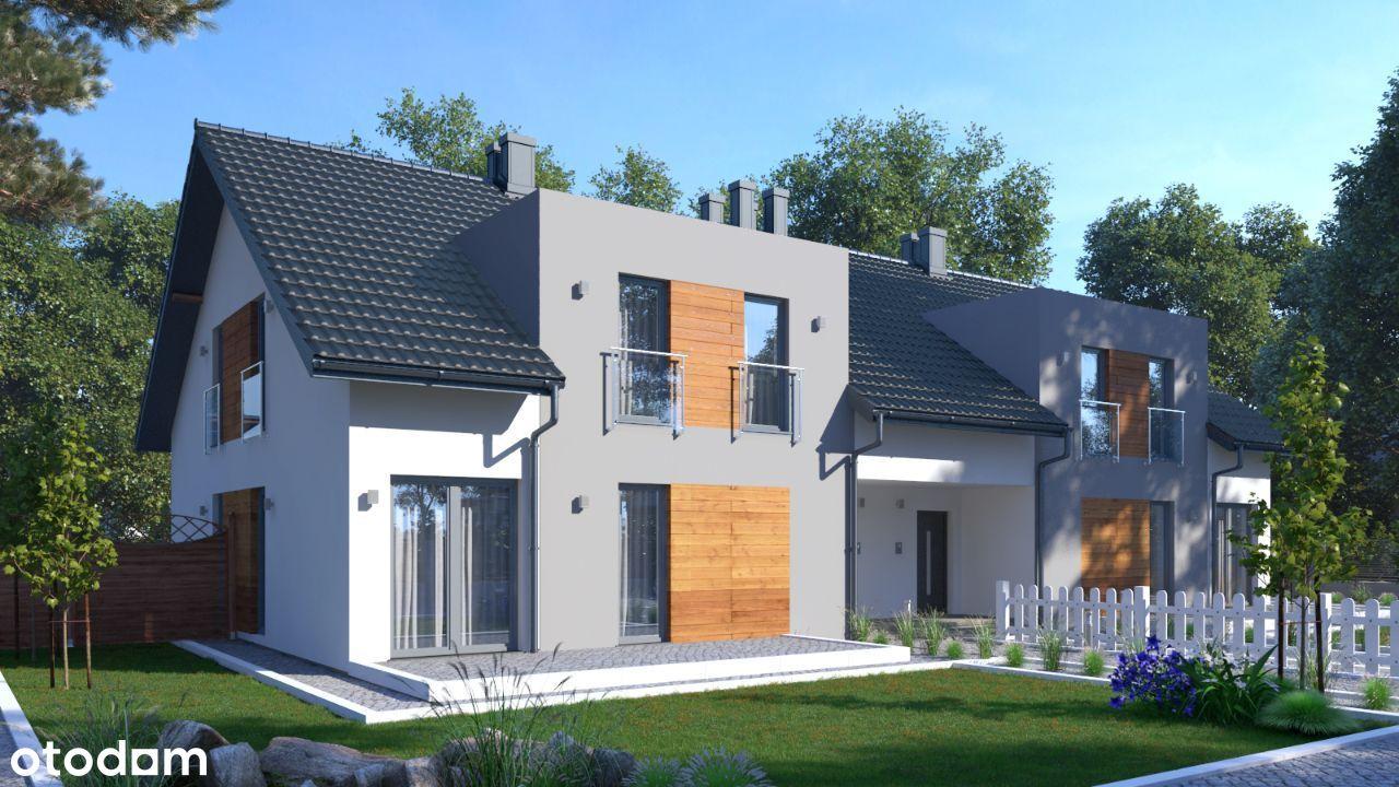 Mieszkanie dwupoziomowe + ogród, taras i parking