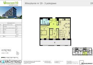 Mieszkanie, 55,76 m², Rzeszów